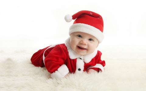 圣诞宝贝全高清壁纸和背景