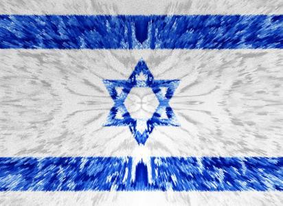 以色列国旗完整的高清壁纸和背景图像