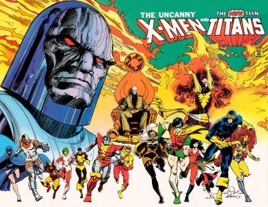 不可思议的X战警和新的青少年泰坦全高清壁纸和背景