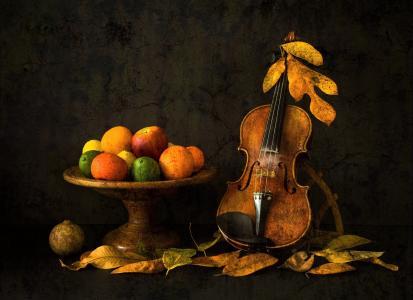 秋季静物全高清壁纸和背景