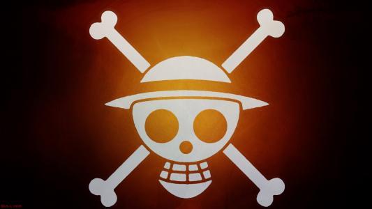 路飞海盗旗全高清壁纸和背景