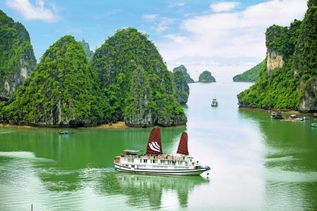 在越南下龙湾全高清壁纸和背景图像