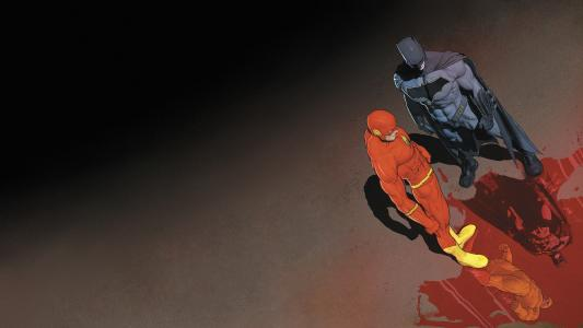 蝙蝠侠和Flash全高清壁纸和背景