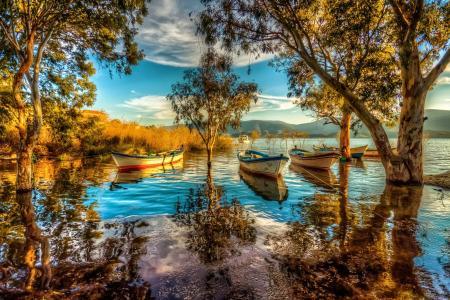 巴法湖全高清壁纸和背景