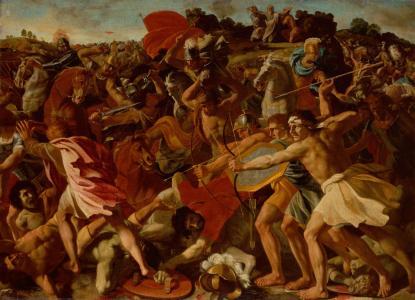 约书亚在亚玛力人全高清壁纸和背景的胜利
