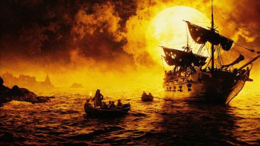 加勒比海盗:黑珍珠全高清壁纸和背景图像的诅咒