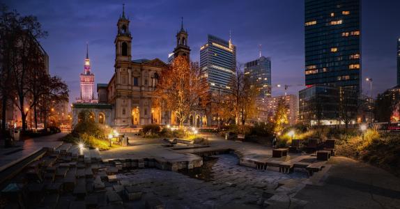 璀璨的波兰教堂