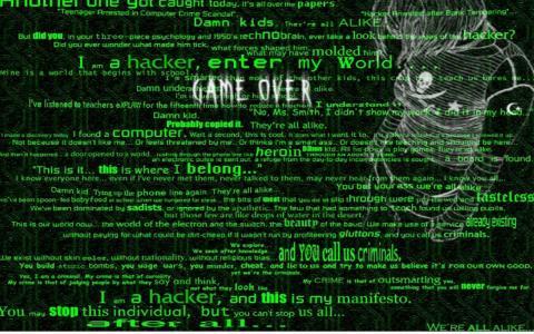 黑客壁紙和背景