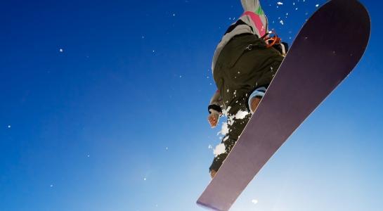 滑雪壁纸和背景