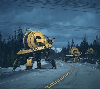 机器人全高清壁纸和背景