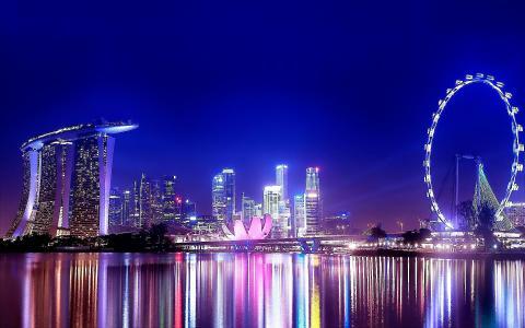 NIGHTGLOW [01] singapore [VersionOne] [551137] [30九月2012sayay]全高清壁纸和背景图片