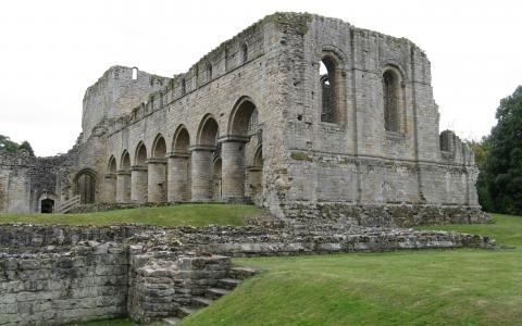 Buildwas Abbey全高清壁纸和背景
