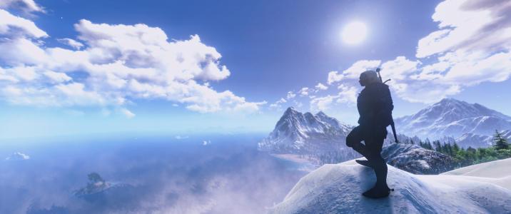 Skellige山全高清壁纸和背景图像